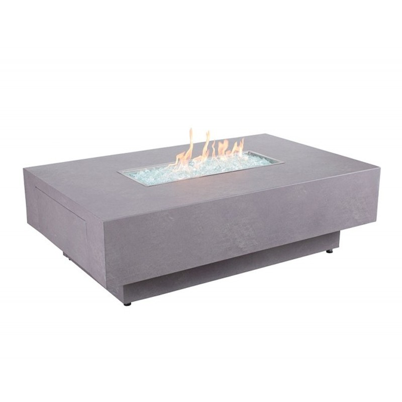 Faux Concrete Fire Table