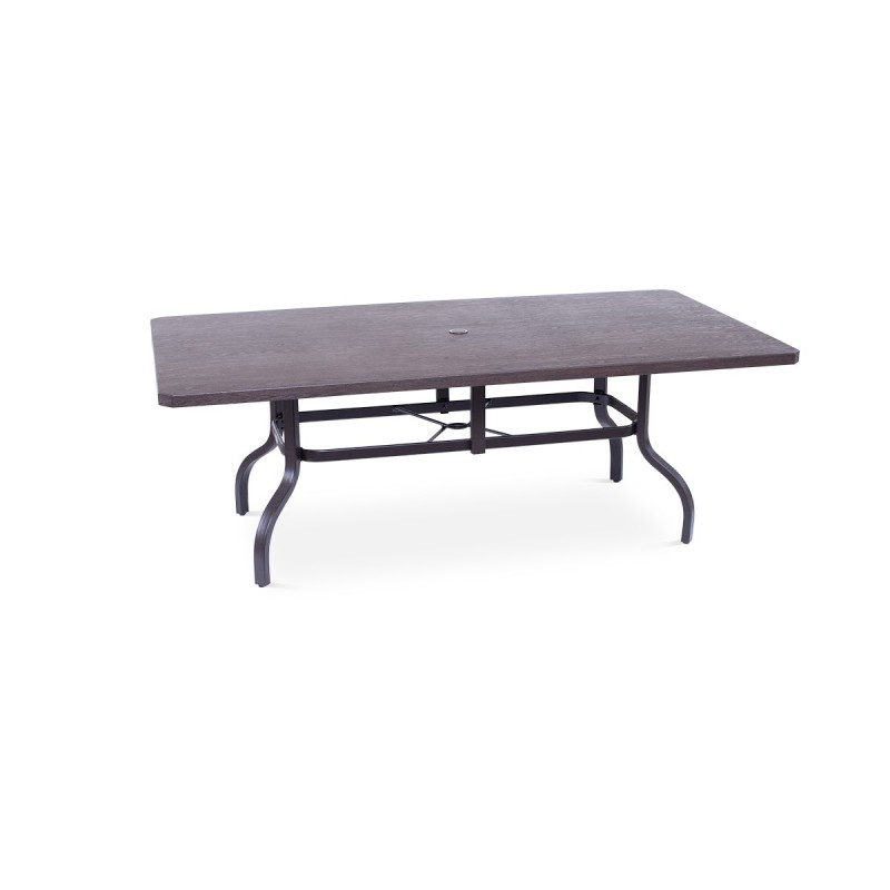 Erie Etch Rect Table