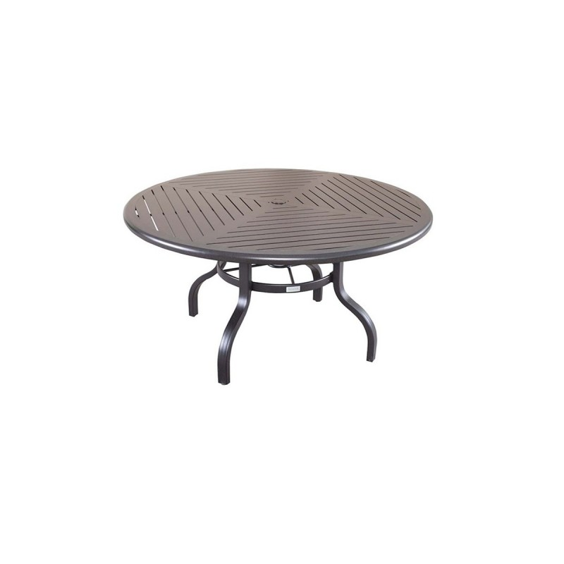 Farnham Round Slat Table