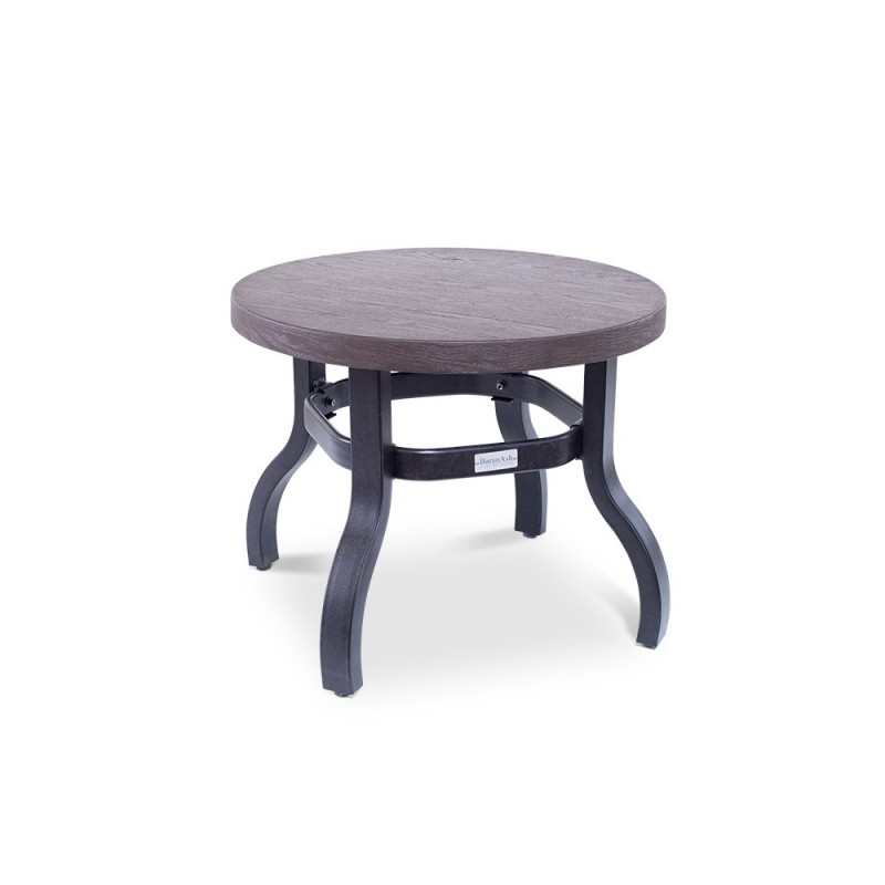 24in. Round Erie Etch End Table
