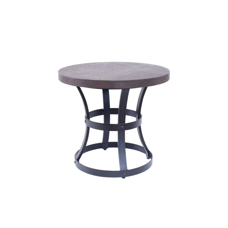 24in. Round End Table