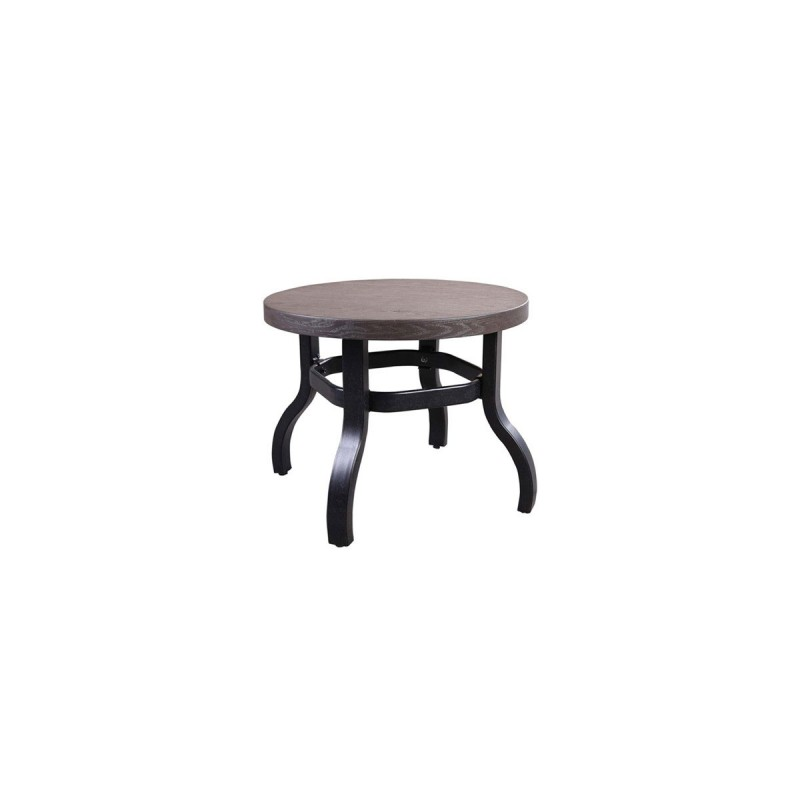 Erie Etch Aluminum End Table