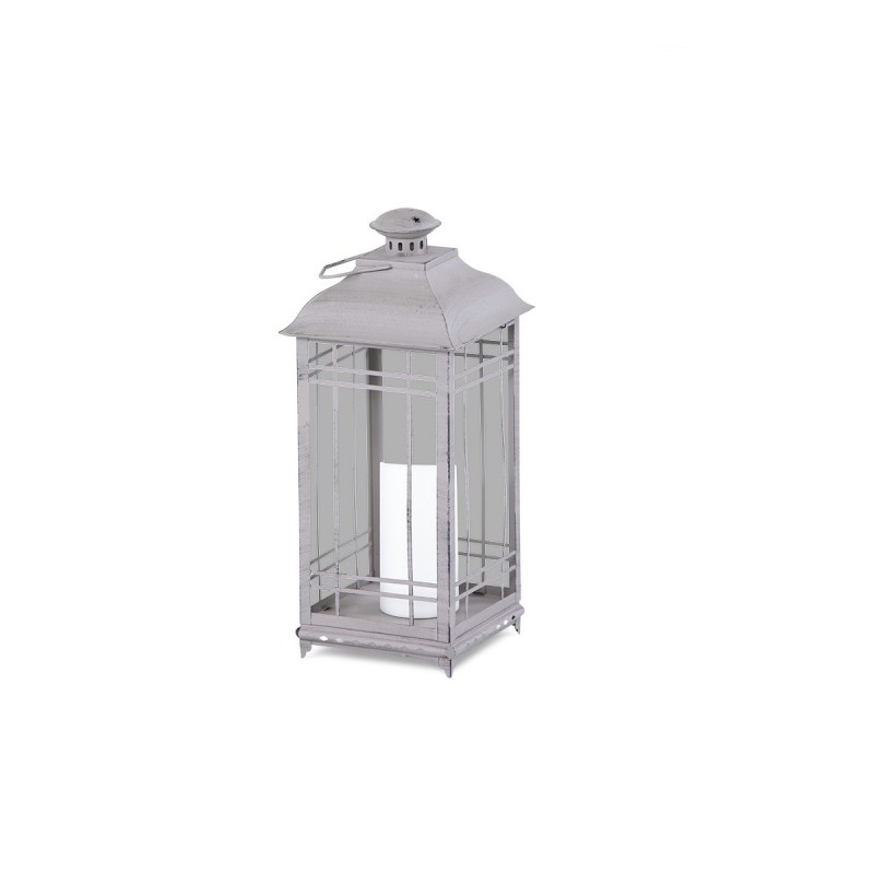 25.75in. Stainless Steel Lantern